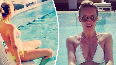 Modelka utekla od české šedi do prosluněného Miami.