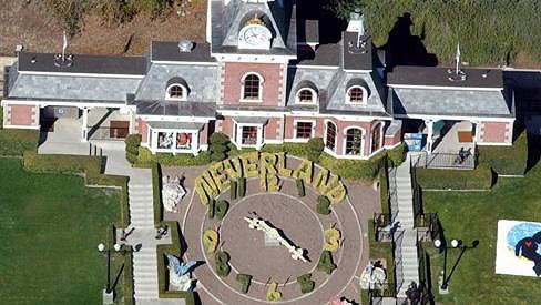 Slavný ranč Neverland.