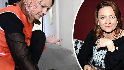 Jolana Voldánová si vyzkoušela profesi uklízečky.