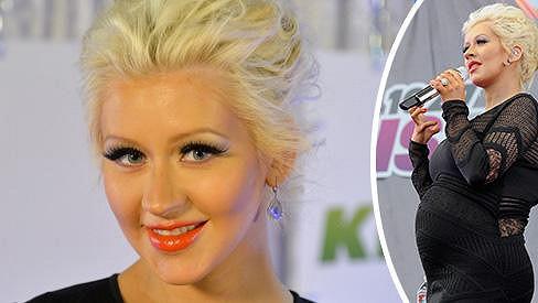 Christina Aguilera bude brzy maminkou.