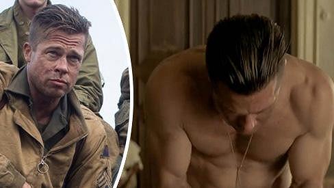 Brad Pitt ve snímku Fury
