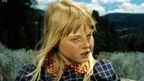 Malá dívenka na obrázku je slavnou herečkou.