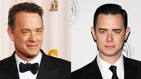 Tom a Colin Hanksovi.