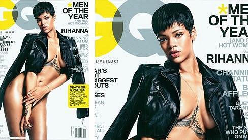 Rihanna se ráda předvádí.