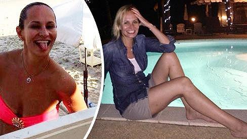 Monika Absolonová si užívá exotickou dovolenou.