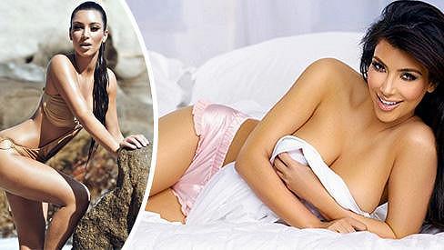 Kim Kardashian se nikdy nebála odhalovat své ženské křivky.