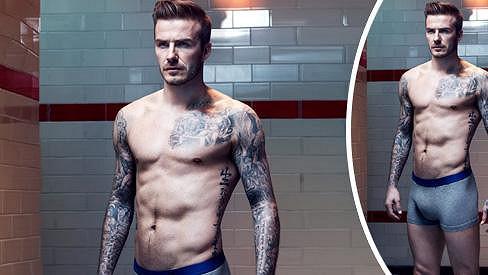 David Beckham ukončil fotbalovou kariéru, jako modelovi by mu to ale také slušelo.