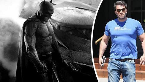 Ben Affleck je pátým novodobým Batmanem.