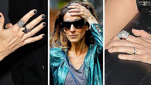 Sarah Jessica Parker nemá ručičky jako princezna...