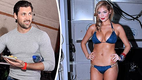 Maksim Chmerkovskiy a Kate Upton jsou prý nejnovějším slavným párem.