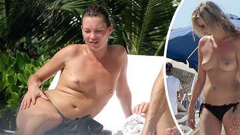 Kate Moss je jednou z mála hvězd, které se rády chlubí svým nahým tělem.