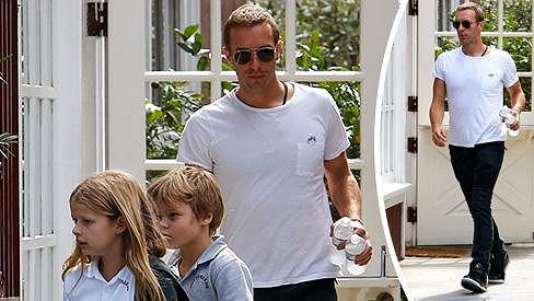 Chris Martin se pochlubil dětmi.