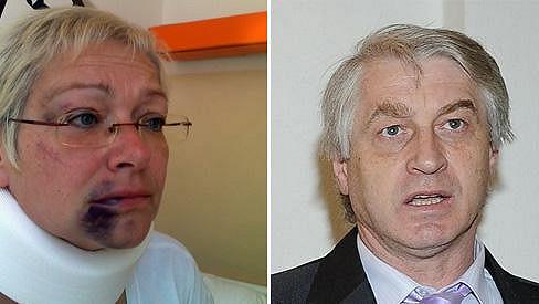 Darina Nová a Josef Rychtář. Zase prý budou bydlet pod jednou střechou.