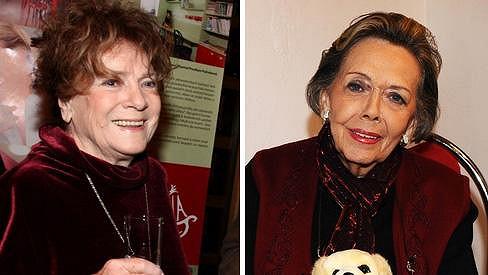 Obě herečky byly v padesátých a šedesátých letech velké kamarádky.