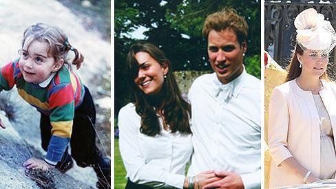 Z malé dívenky vévodkyní z Cambridge