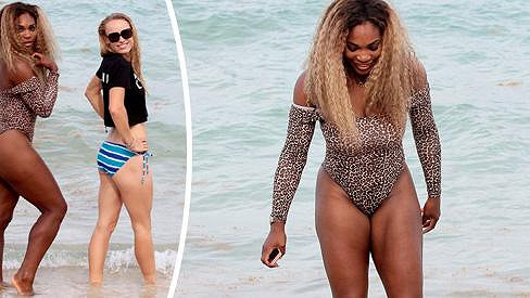 Serena Williams je na své křivky hrdá.