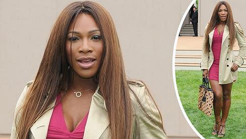 Serena Williams byla na nedávné módní přehlídce za dámu.