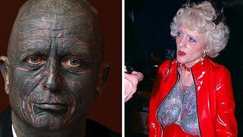 Vladimír Franz a žena, o níž někteří (asi lživě) tvrdí, že je jeho matkou.