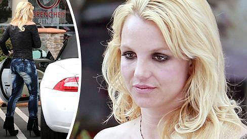 Britney Spears v poslední době módu ani svou vizáž moc neřeší.