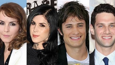 Mezi slavnými lidmi je mnoho podobných tváří.