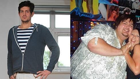 Matthew Briggs shodil přes sto kilo a je z něj pohledný muž.