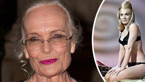 Shirley Eaton po 50 letech.