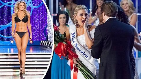 Miss Ameriky Mallory Hagan byla z titulu překvapená.