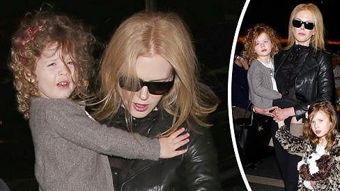 Nicole Kidman a její dcerky