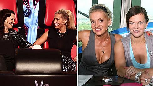 Dara Rolins a Marta Jandová vytvoří v Hlasu jeden tým. Odhalí se jako v SuperStar?