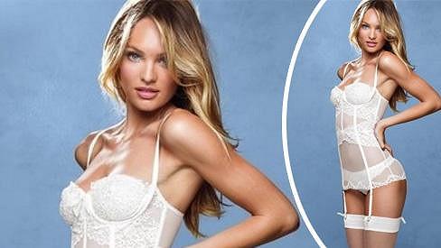 Candice Swanepoel v nové kampani předvádí své luxusní křivky.