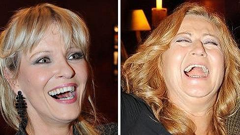 Nevyděsí, Simona Stašová a Chantal Poullain mají krásné a bezchybné úsměvy.
