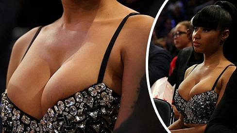 Nicki Minaj na sebe strhla pozornost.