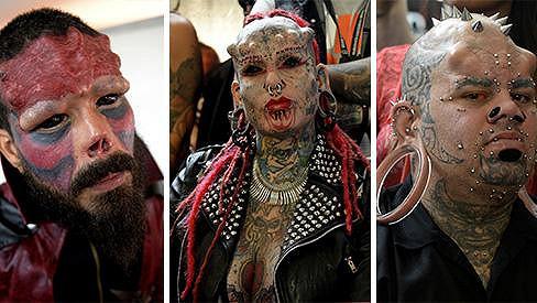 I toto lze potkat na akci Tattoo International Expo v Caracasu.