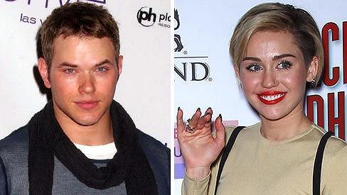 Miley s Kellanem tvoří nový hvězdný páreček.