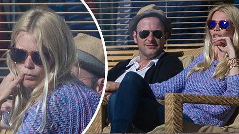 Claudia Schiffer s manželem na dovolené v Marbelle