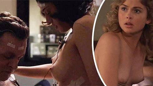 Krásky se svlékají v seriálu Masters of Sex.