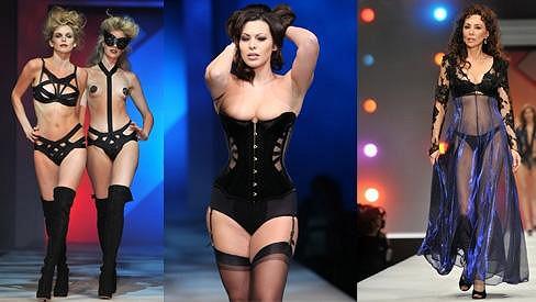 Modelky musely mít na podobné kreace pořádnou kuráž.