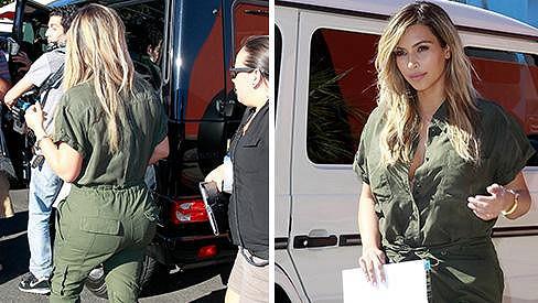 Kim Kardashian jako maminka