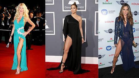 Slavné krásky a jejich sexy pózy: Victoria Silvstedt, Jennifer Lopez a Alessandra Ambrosio.