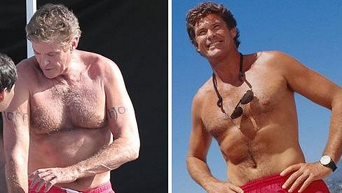 David Hasselhoff po 25 letech