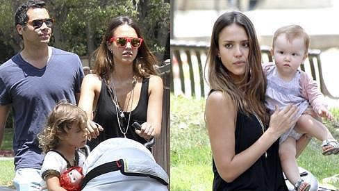 Jessica Alba a její rodinné štěstí.