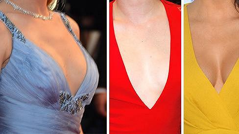 Tipnete si, kterým slavným ženám patří tyto dekolty?