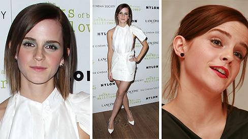 Emma Watson vypadá pořád velmi mladě.
