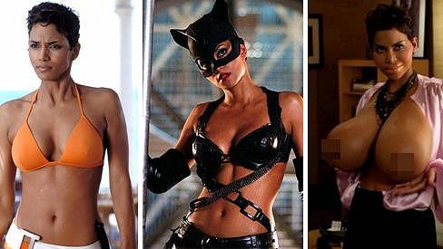 Halle Berry je ozdobou filmového plátna.