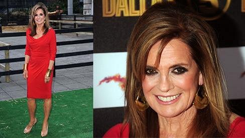 Linda Gray je stále atraktivní žena.