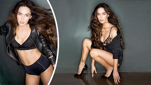Megan Fox pro Esquire.