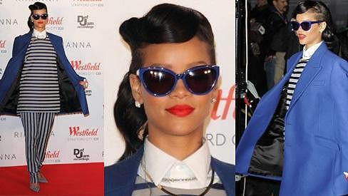 Rihanna měla ránu.