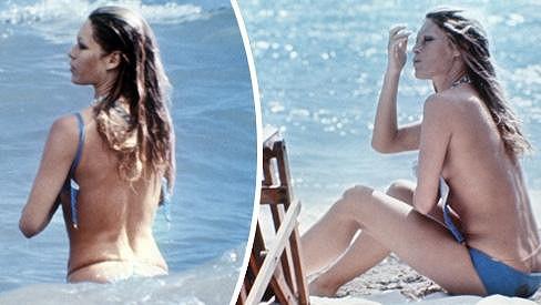 Brigitte Bardot v akci.