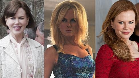 Z blondýnky a zrzky brunetkou s mikádem.