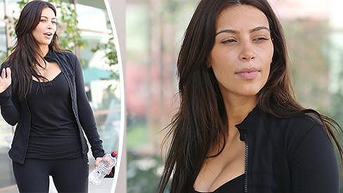 Kim Kardashian je přirozeně krásná...